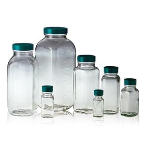 Qorpak 方型螺蓋樣本瓶