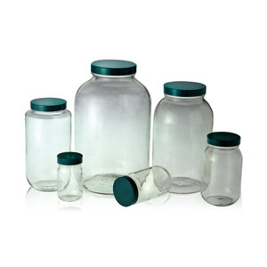 Qorpak 廣口螺蓋樣本瓶