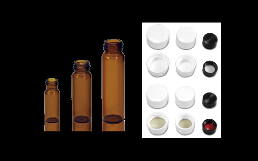 茶色螺蓋樣本瓶 bato