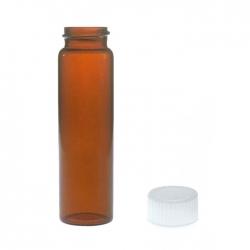 茶色螺蓋樣本瓶白蓋PTFE墊片