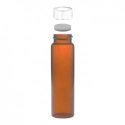 茶色螺蓋樣本瓶中孔白蓋