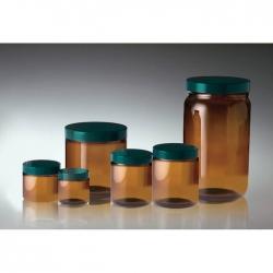 茶色直筒型玻璃樣本瓶