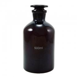 茶色細口瓶