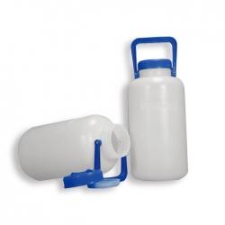 塑膠廣口瓶 PE附提把
