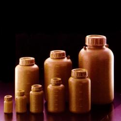 茶色塑膠廣口瓶 PE