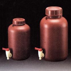 茶色塑膠下口瓶 PE