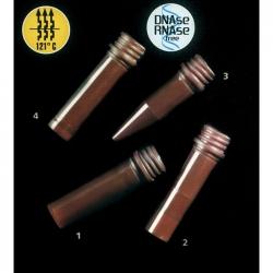 茶色微量離心管螺蓋式
