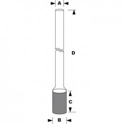 直型通氣管