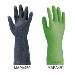 橡膠耐酸鹼溶劑手套