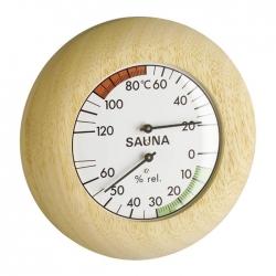 毛髮溫濕度計 三溫暖用指針型