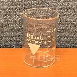 低型厚壁燒杯 150ml