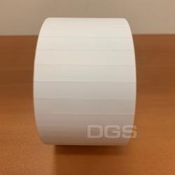 冷藏標籤 白色38x6mm