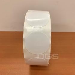 冷凍標籤 白色 25mm