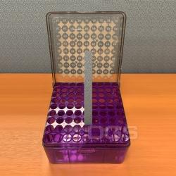 PC冷凍盒 紫 81孔 3-5ml