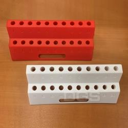 PP微量離心管架20孔 紅/白色