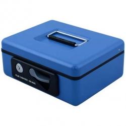 鑰匙鎖現金箱 藍 (CB-040G/CB-050G/CB-060G)